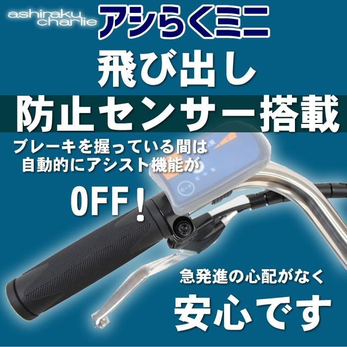 アシらくチャーリーミニ 電動アシスト自転車 MG-TRM18MINI